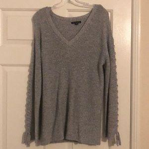 New grey sweater